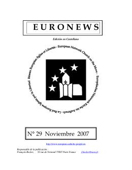 noviembre 2007 - Réseau Européen Eglises et Libertés