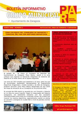 Grupo Municipal del Ayuntamiento Zaragoza