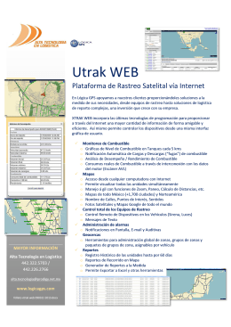 Folleto Utrak WEB 090321 2013.
