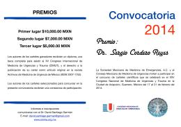 FOLLETO PREMIO copia - Sociedad Mexicana de Medicina de