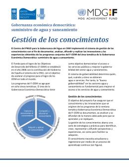 folleto-resumen del programa DEG-KM