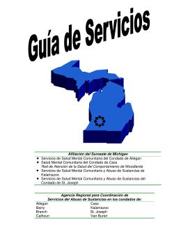 Afiliación del Suroeste de Michigan Servicios de Salud Mental