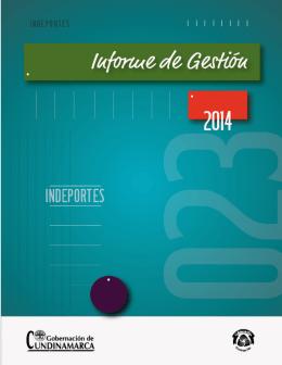 Indeportes - Gobernación de Cundinamarca