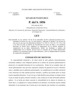 Radicado - Oficina de Servicios Legislativos