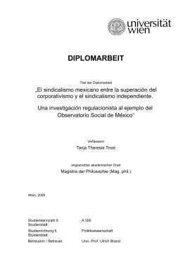 DIPLOMARBEIT - E-Theses