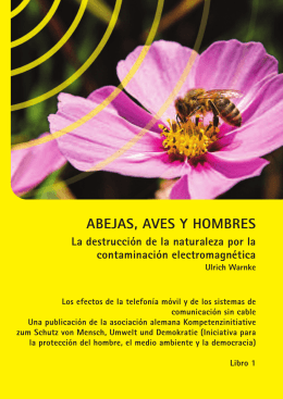 ABEJAS, AVES Y HOMBRES