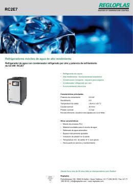 Refrigeradores móviles de agua de alto rendimiento