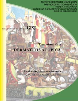 GER Tx Dermatitis Atópica - Instituto Mexicano del Seguro Social