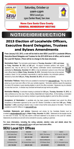 SC IHSS Localwide Election 10 09 12 English
