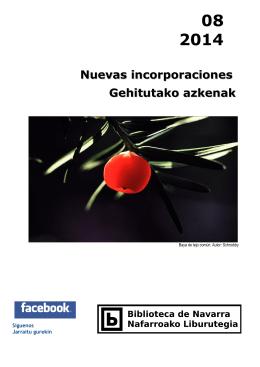 Nuevas incorporaciones Gehitutako azkenak