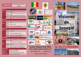 Programa Visiones de Senegal
