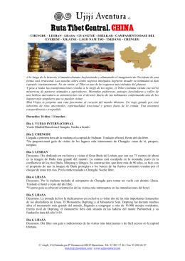 Ruta Tibet Central.CHINA