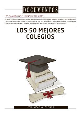 LOS 50 MEJORES COLEGIOS