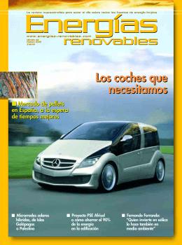 rreennoovvaabblleess renovables Los coches que necesitamos Los