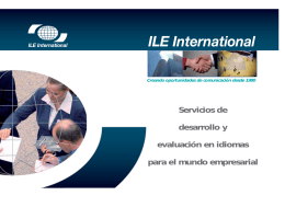 2 - ILE International