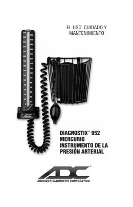diagnostixtm 952 mercurio instrumento de la presión arterial