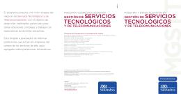 El programa propone una visión integral del negocio de Servicios