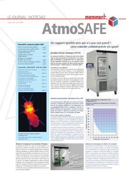 AtmoSAFE - Memmert GmbH + Co. KG