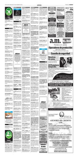 ventas - Periódico am