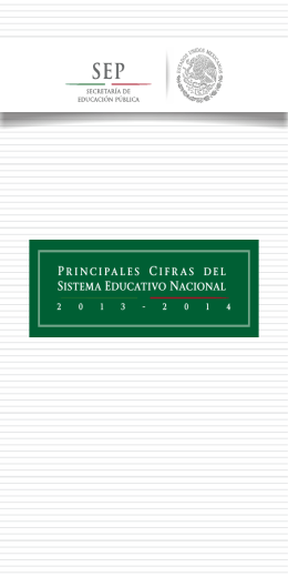 Ciclo Escolar 2013 - 2014 - Welcome to fs.planeacion.sep.gob.mx!