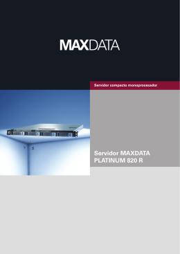 Servidor MAXDATA PLATINUM 820 R