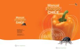 Manual del Picudo del Chile