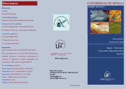 UNIVERSIDAD DE SEVILLA - Centro de Formación Permanente
