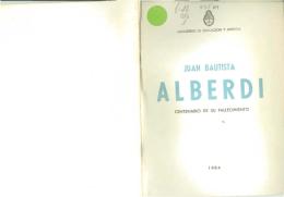 Juan Bautista Alberdi - Ministerio de Educación