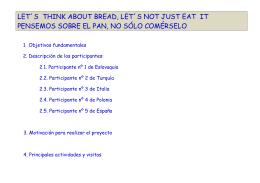 Comenius BREAD - IES Blas de Prado, Camarena (Toledo)
