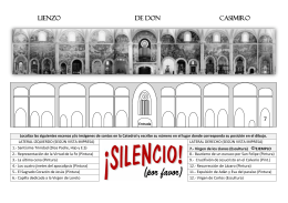 Lienzo de D. Casimiro