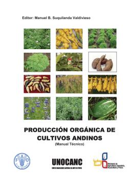 producción orgánica de cultivos andinos