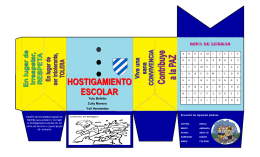 folleto tic hostigamiento escolar