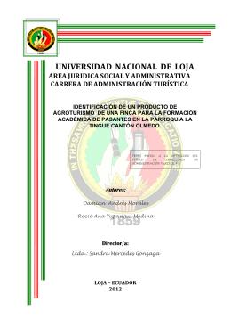 TESIS COMPLETA - Repositorio Universidad Nacional de Loja