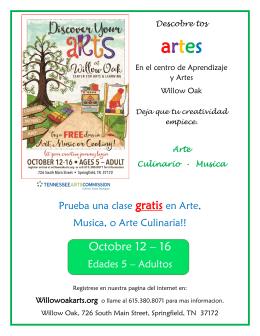 2015 Intro de Aprendizaje y Artes