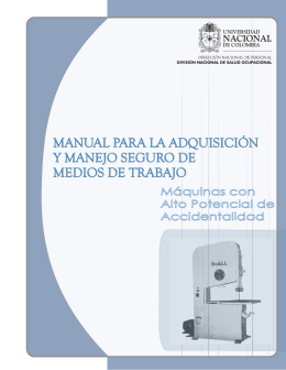 Manual Adquisición Maquinas - Universidad Nacional de Colombia