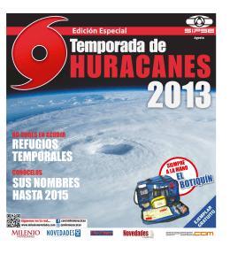 Temporada de Huracanes 2013