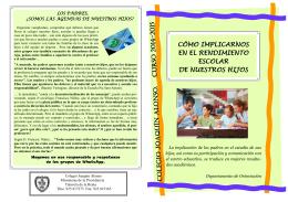folleto para padres primaria y eso
