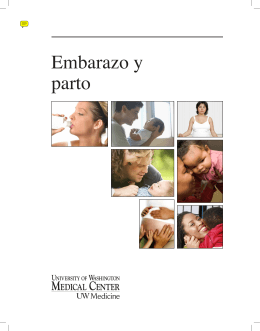 Embarazo y parto - UWMC Health On-Line