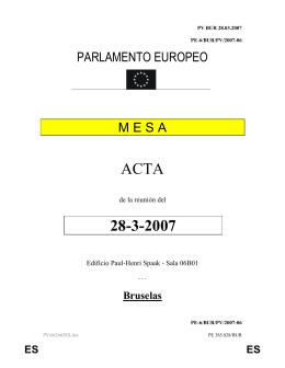 ACTA 28-3-2007