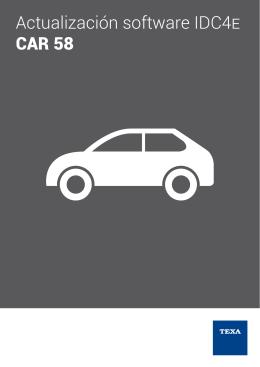 actualización idc4 car 58