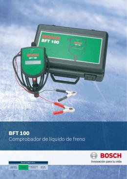 Comprob. líq. frenos BFT 100