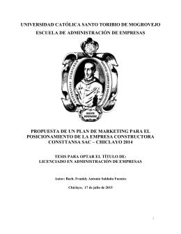 universidad católica santo toribio de mogrovejo escuela de