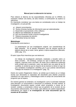 Manual Tesina - Universidad Salesiana
