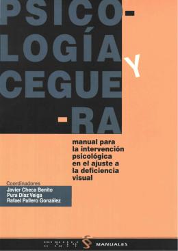 Psicología y Ceguera: Manual para la Intervención Psicológica
