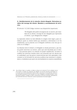 Tomo II Relaciones con Tribunales profesionales clientes y medios