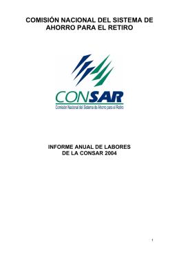 2004 - Consar