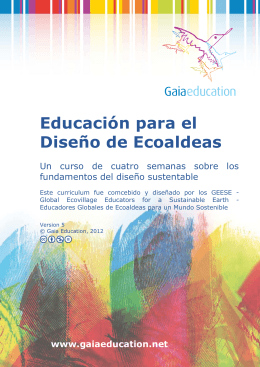 Módulo 1 - Gaia Education