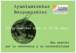 Ayuntamientos Responsables - Fundación Ecología y Desarrollo