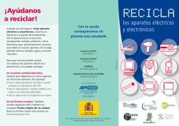 Folleto sensibilización reciclaje. ( pdf, 510 Kb)