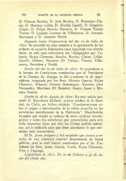 112 D. Vicente Sancho, D. José Rovira, D. Francisco Cis